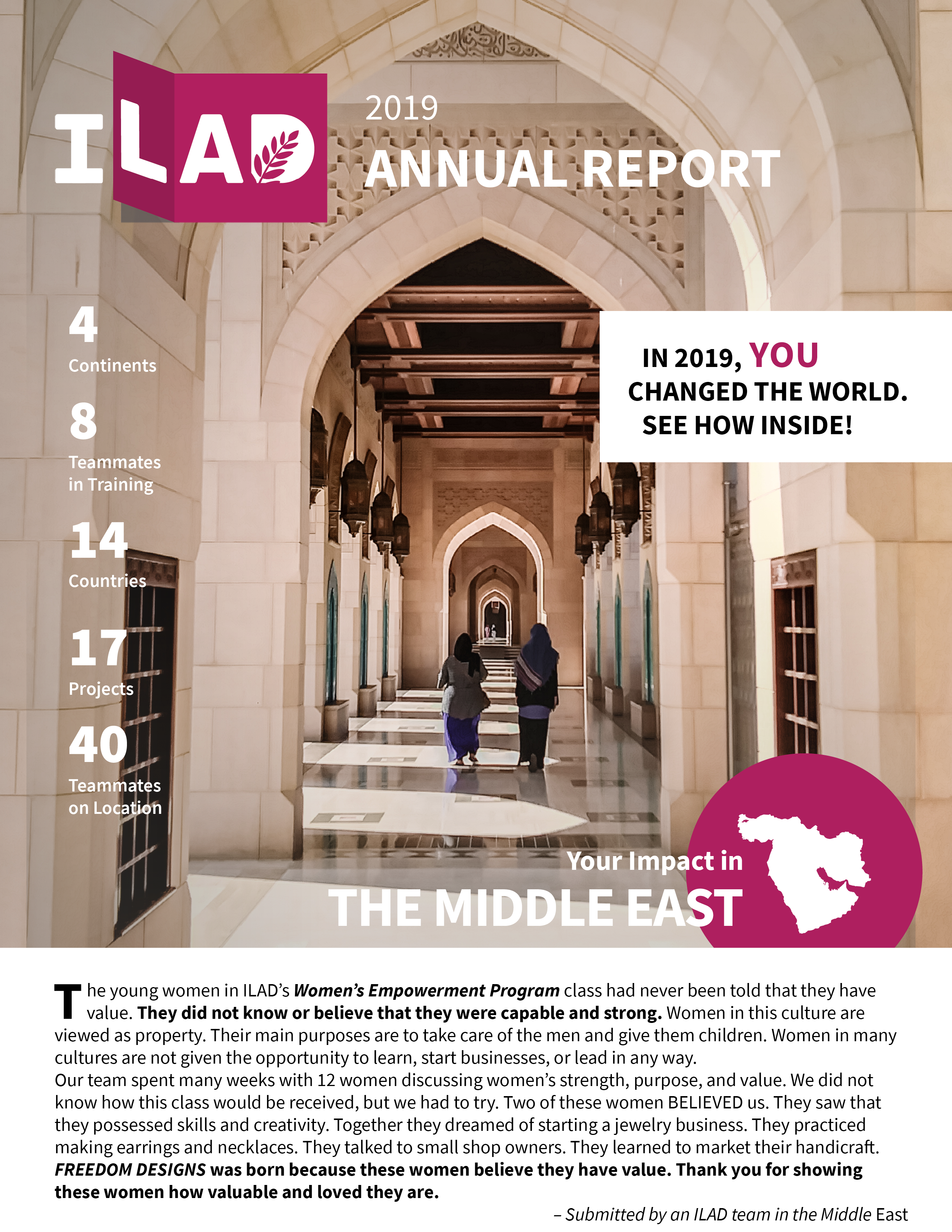 Front Cover 2019 Annual Report